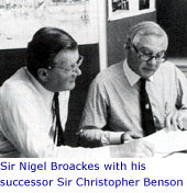 Nigel Broackes and Christopher Benson
